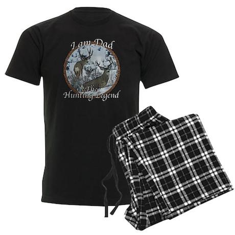 Dad hunting legend Men's Dark Pajamas