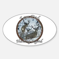 Dad hunting legend Decal