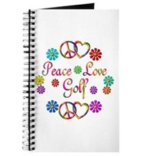 Peace Love Golf Journal