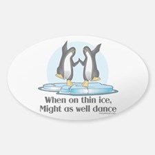 When On Tin Ice Decal