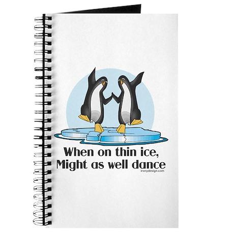 When On Tin Ice Journal