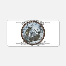 Dad the hunting legend Aluminum License Plate
