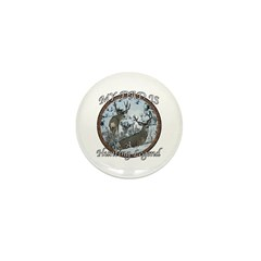 Dad the hunting legend Mini Button (10 pack)