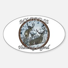 Dad the hunting legend Decal