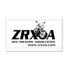 ZRXOA Car Magnet 20 x 12