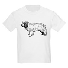Clumber Spaniel Black and Whi T-Shirt
