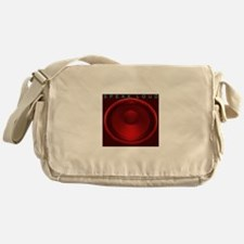 SpeakLoud - Red Messenger Bag