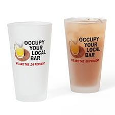 .08 Percent Drinking Glass