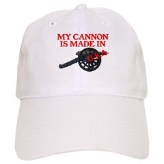 MY CANNON IS MADE IN U.S.A.™ Baseball Cap