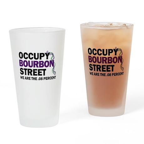 Occupy Bourbon Street Drinking Glass