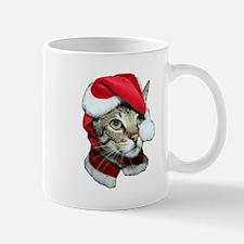 Cute Santa Cat Mug
