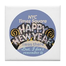 New Years NYC Tile Coaster