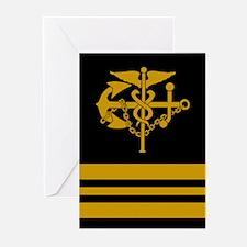 Lieutenant Commander<BR> Six Greeting Cards