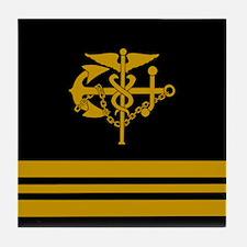 Lieutenant Commander<BR> Tile Coaster