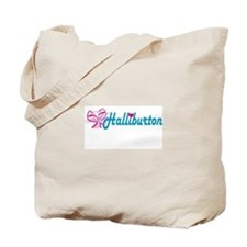 HALLIBURTON LOVE Tote Bag
