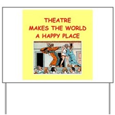 theater Yard Sign