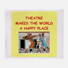 theater Throw Blanket