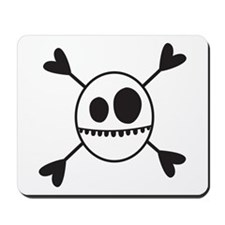 SKELLY HEART Mousepad