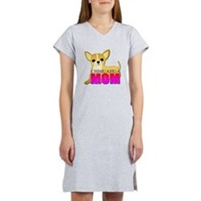 Chihuahua Mom Women's Nightshirt