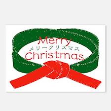 """Karate Christmas"" Postcards (Package of 8)"