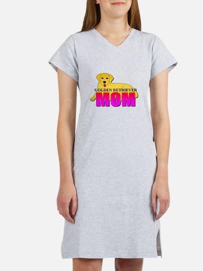 Golden Retriever Mom Women's Nightshirt
