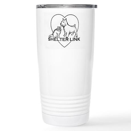 Shelter Link Logo Stainless Steel Travel Mug