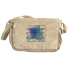 Nursing School Messenger Bag