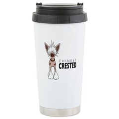 Chinese Crested Travel Mug