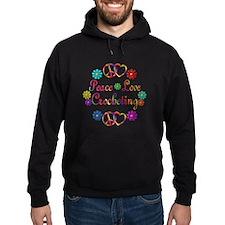 Peace Love Crocheting Hoody