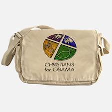 Christians for Obama Messenger Bag