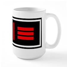 Master/slave Dom/sub Flag Mug(Right handed)