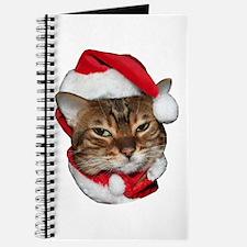 Santa Bengal Cat Journal