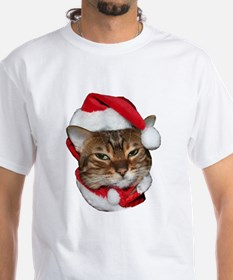 Santa Bengal Cat Shirt