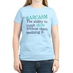 SArcasm Women's Light T-Shirt