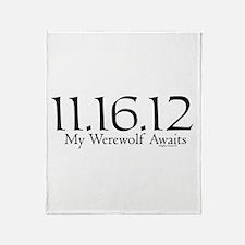 Werewolf Waits Throw Blanket