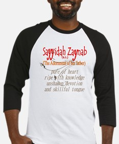 Zaynab, adornment of Ali Baseball Jersey