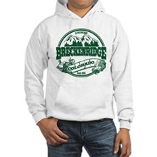 Breckenridge Old Circle 3 Green Hoodie