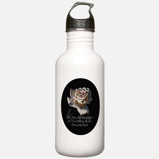 THE WHITE ROSE SOCIETY Water Bottle