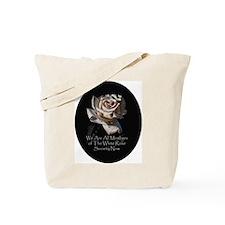 THE WHITE ROSE SOCIETY Tote Bag