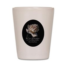 THE WHITE ROSE SOCIETY Shot Glass