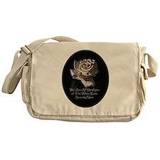 THE WHITE ROSE SOCIETY Messenger Bag