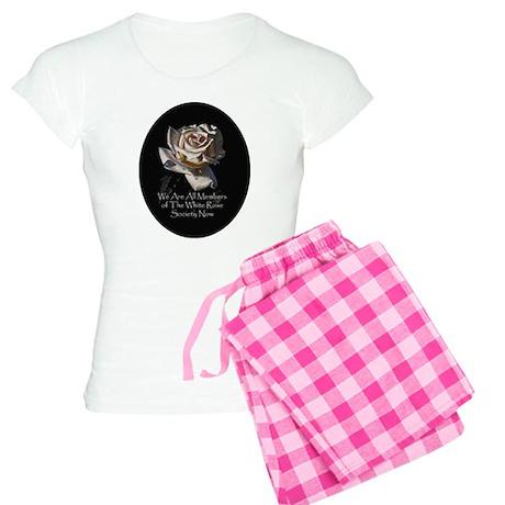 THE WHITE ROSE SOCIETY Women's Light Pajamas