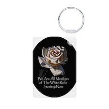 THE WHITE ROSE SOCIETY Keychains