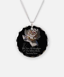 THE WHITE ROSE SOCIETY Necklace