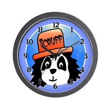 Scruff the Dog Wall Clock