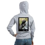 Climb On Lizard Women's Zip Hoodie