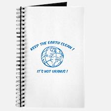 Keep the earth clean ! Journal