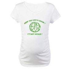 Keep the earth clean ! Shirt