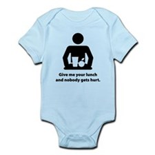 Give me your lunch money Infant Bodysuit
