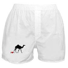 I love Camel Toe Boxer Shorts